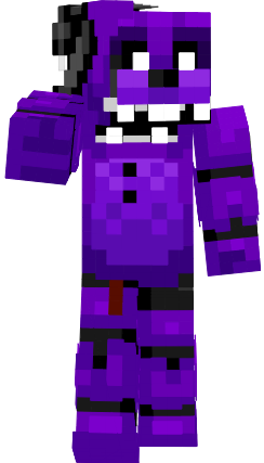 Girl Minecraft Wallpaper Withered Shadow Freddy Fnaf2 Nova Skin