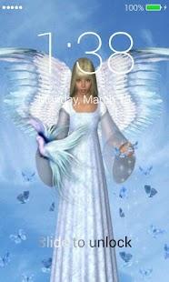 Angel Lock Screen - náhled