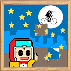 jigsaw puzzle game moving icon
