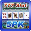 777 Poker 5PK Slot Machine icon