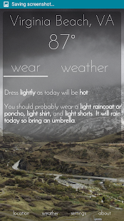 Wear Weather- screenshot thumbnail