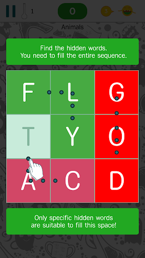 Find The Words - search puzzle with themes 2.7.4 screenshots 1