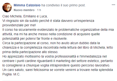 testimonianze Luca MaDi