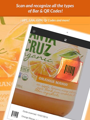 QR Scanner & Barcode reader 1.0.1 screenshots 9