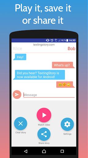 TextingStory - Chat Story Maker 1.4.0 screenshots 3