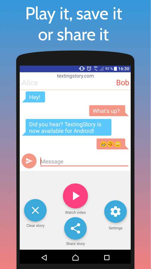 TextingStory - Chat Story Maker- screenshot