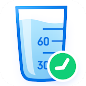 Water Tracker: Drink Water Reminder & Alarm Icon