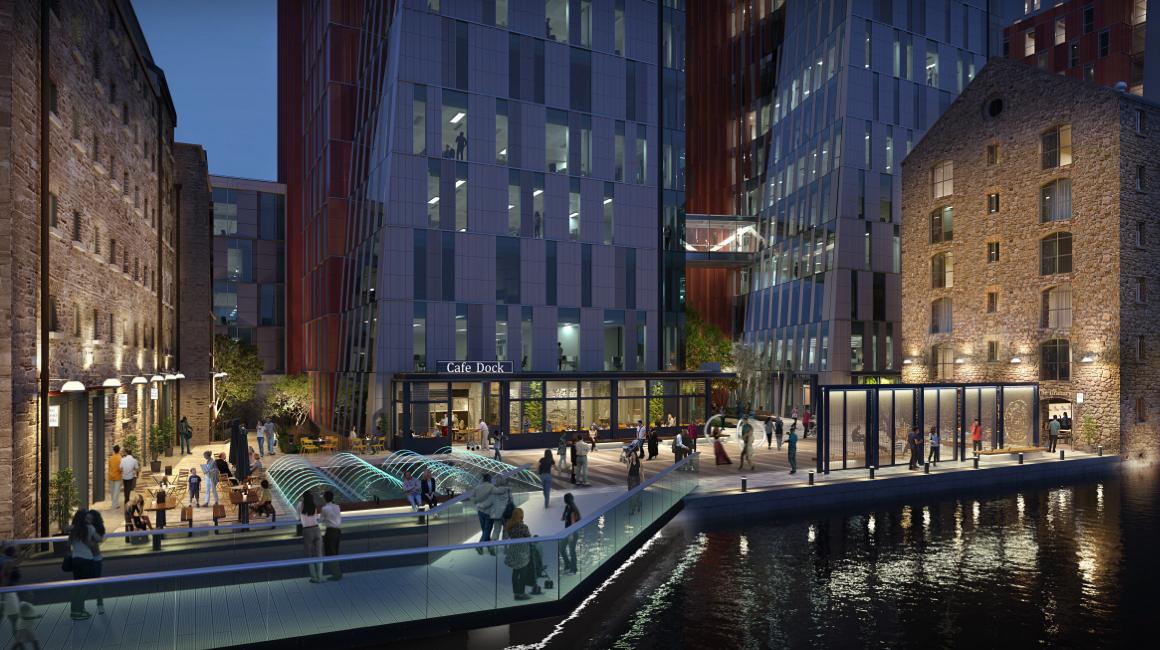 Bolands Mills mixed-use development, Dublin, Ireland
