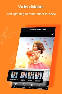VidShow -Video Editor, Cut, Video Maker with Music - náhled