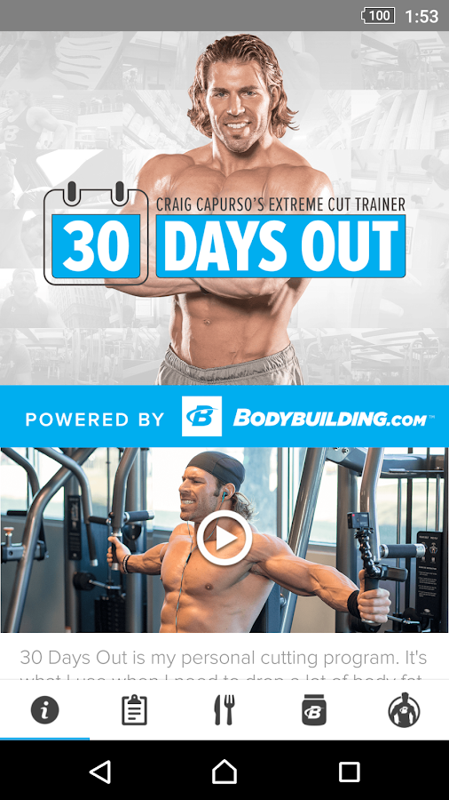30 Days Out with Craig Capurso- screenshot
