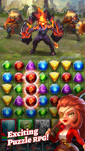 Dragon Strike: Puzzle RPG 0.1.8 androidappsheaven.com 1