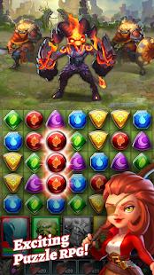 Dragon Strike: Puzzle RPG 2