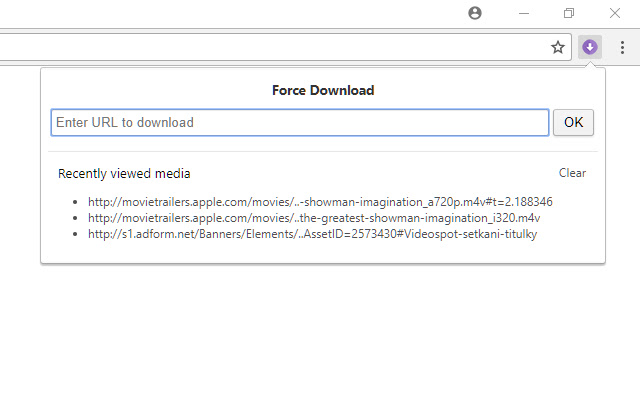 Force Download