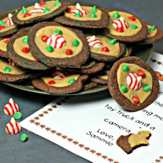 Whimsical Santa Cookies