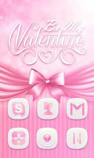 my valentine go launcher theme screenshot 1