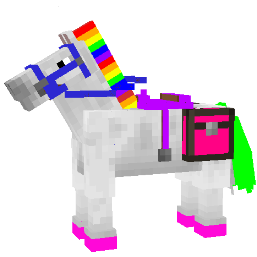 UNICORN Skin For MCPE