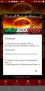 Armageddon VPN App Download For Android 3