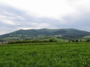 Photo: 11.Lubogoszcz (967 m). Główny wierzchołek po prawej.