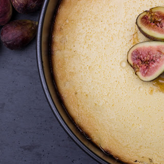 Honey Fig Ricotta Torte