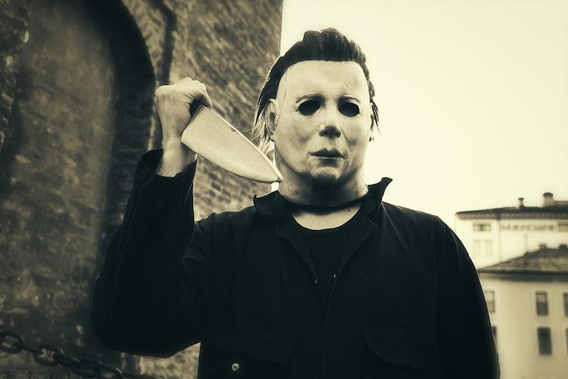 Michael Myers and his big... knife! di monicar6