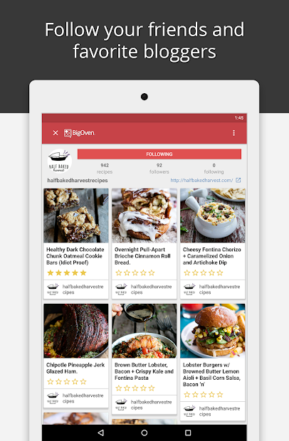 BigOven Recipes, Meal Planner, Grocery List & More screenshot 14