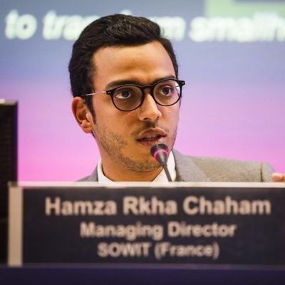Hamza Rkha Chaham, Africa Goes Digital board member and co-founder of SOWIT.
