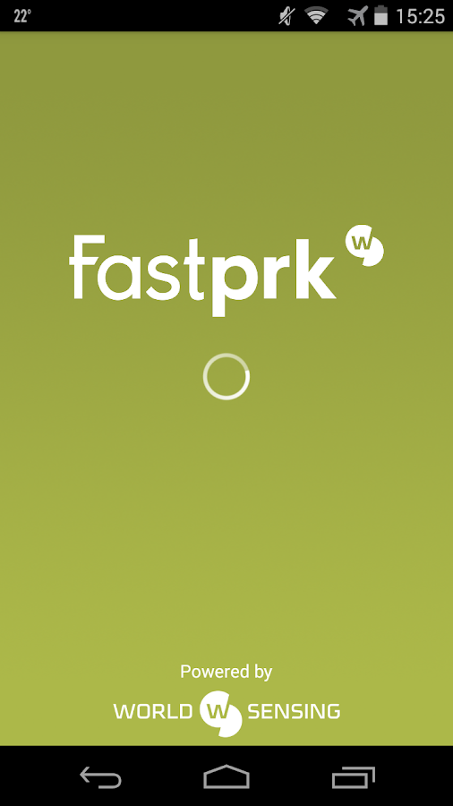 Fastprk, Find a Parking Space!: captura de pantalla