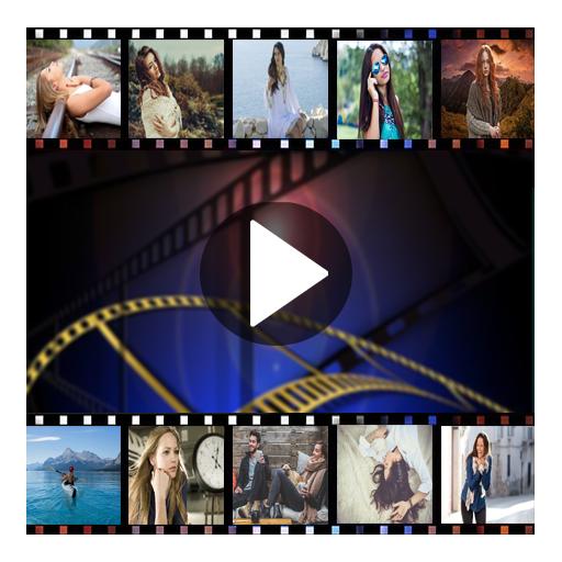 دمج الصور مع الأغاني لصنع فيديو بدون أنترنت 2018