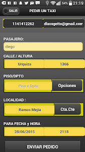 Easy taxi Pampa screenshot 2