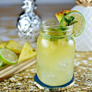Pineapple Mojito - A Cocktail.