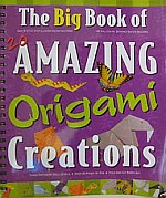 Photo: The Big Book of 20 Amazing ORIGAMI Creations Flying Frog 2007 ringbound 50 pp 31 x 26 cms