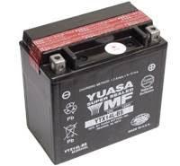 YUASA MC batteri YTX14L-BS lxbxh=150x87x145mm