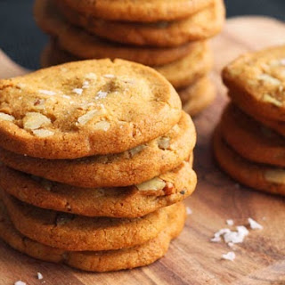 Salted Brown Butter Pecan Cookies