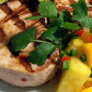Citrus Swordfish With Citrus Salsa
