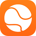 Find tennis players nearby icon