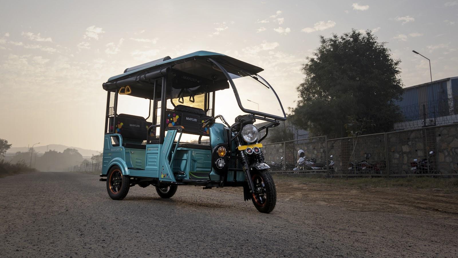 Mayuri E-Rickshaw - The Insights of an E-Rickshaw