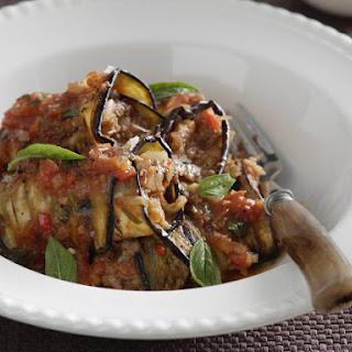 Eggplant Bolognese Rolls