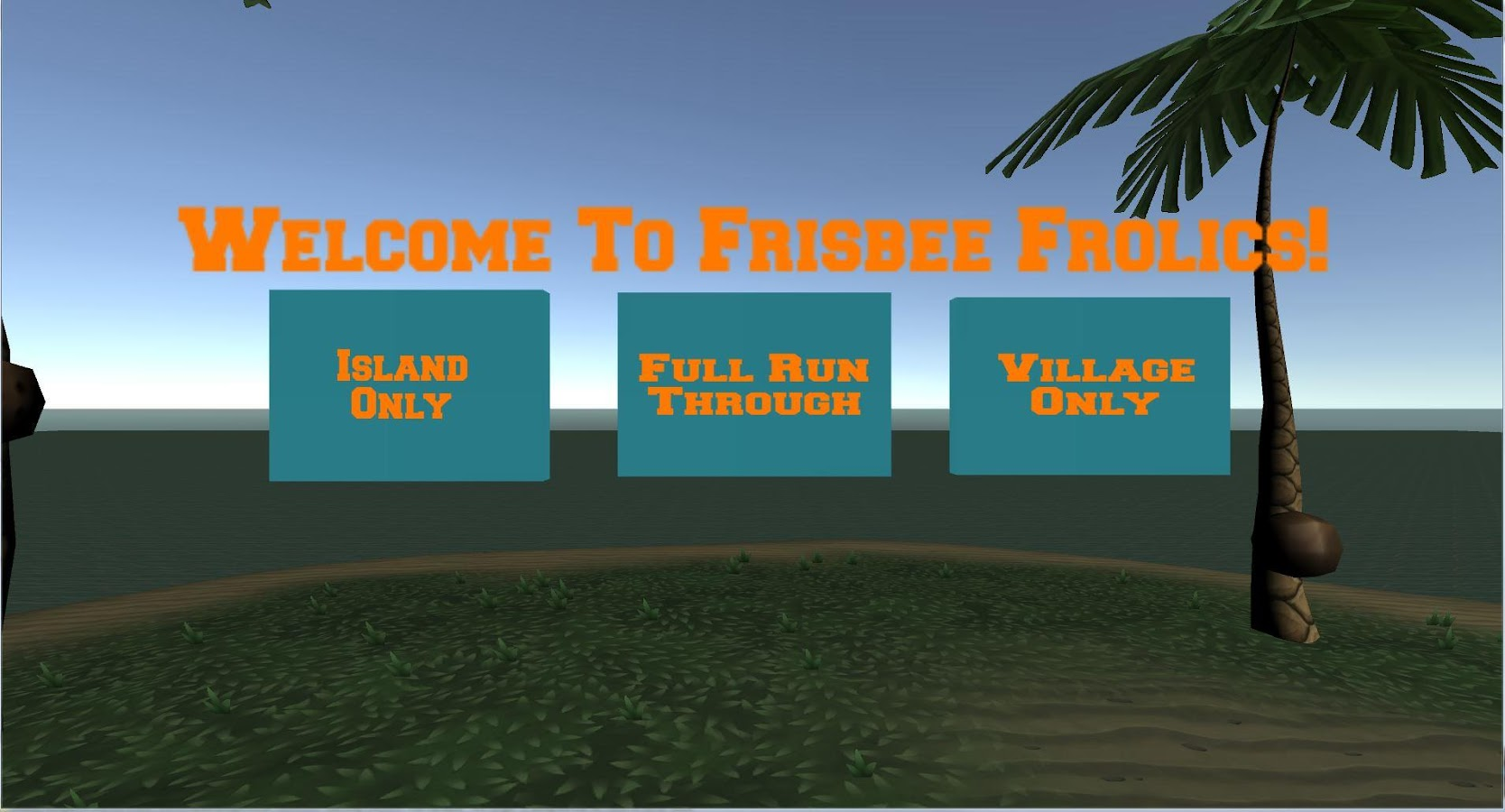Frisbee Frolics!- screenshot