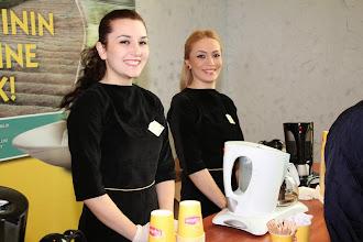 Photo: Lipton gün boyunca konuklara çay servisi yaptı. www.gelecekgunu.org