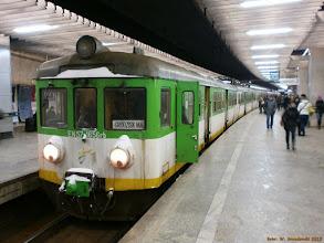 Photo: EN57-1656 (KM), Warszawa Wschodnia - Grodzisk Mazowiecki {Warszawa Śródmieście; 2013-01-21}