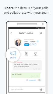 IOVOX Preview: Sync, Collaborate & Share Calls- screenshot thumbnail
