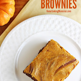 Easy Pumpkin Cheesecake Brownies