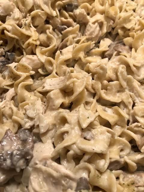 Chicken Noodle Stroganoff Recipe