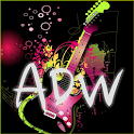 Pink Black AdwTheme icon