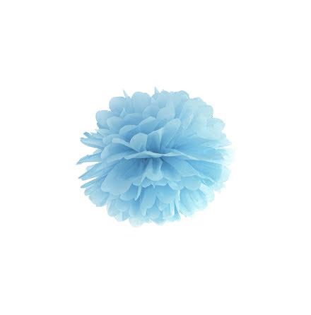 Pom pom - ljusblå 25 cm