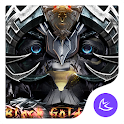 Black Lion-APUS Launcher theme icon