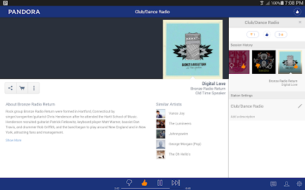Pandora® Radio Screenshot 7