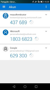 Microsoft Authenticator- gambar mini screenshot