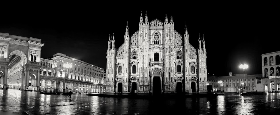 Milano by night di Massimo_Vitellino