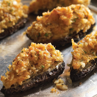 Spring Into These Crab-Stuffed Morel Mushrooms.